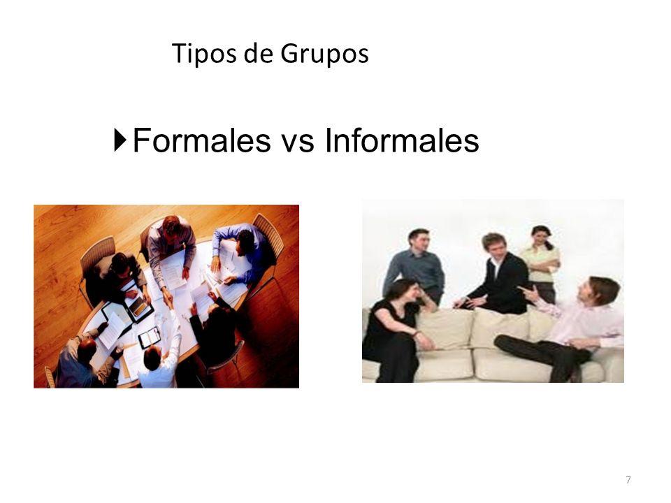 Grupos Informales a.Grupos informales.