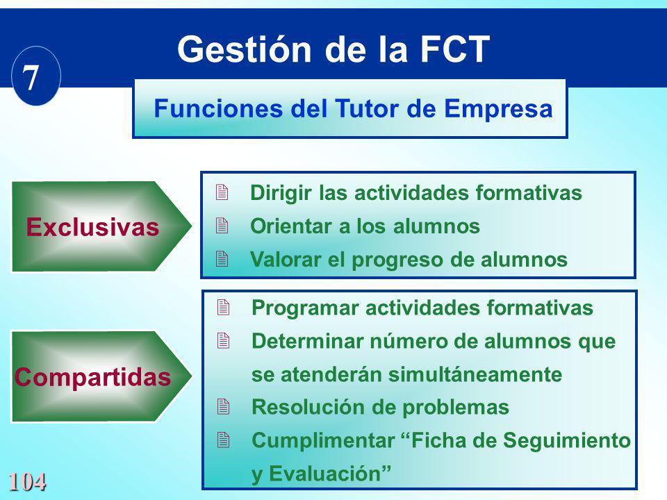 104 2Programar actividades formativas 2Determinar número de alumnos que se atenderán simultáneamente 2Resolución de problemas 2Cumplimentar Ficha de S