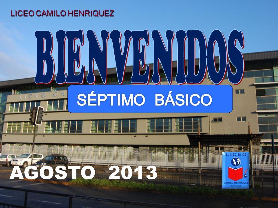 LICEO CAMILO HENRIQUEZ AGOSTO 2013