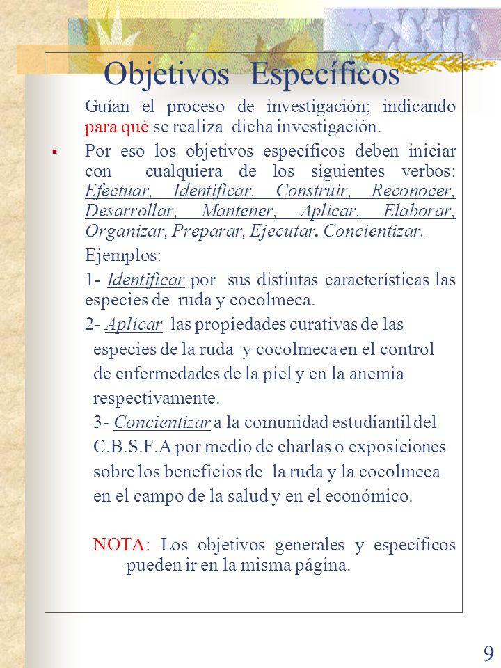 10 Metodología ¿En qué consiste.