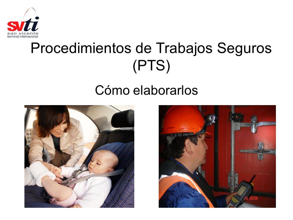 1 Procedimientos de Trabajos Seguros (PTS) Cómo elaborarlos