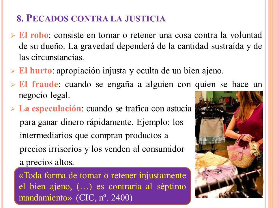 7. ADEMAS DE JUSTICIA, CARIDAD 1. la Iglesia enseña que la justicia sin la caridad es insuficiente en el orden social. Pone remedio allí donde no lleg