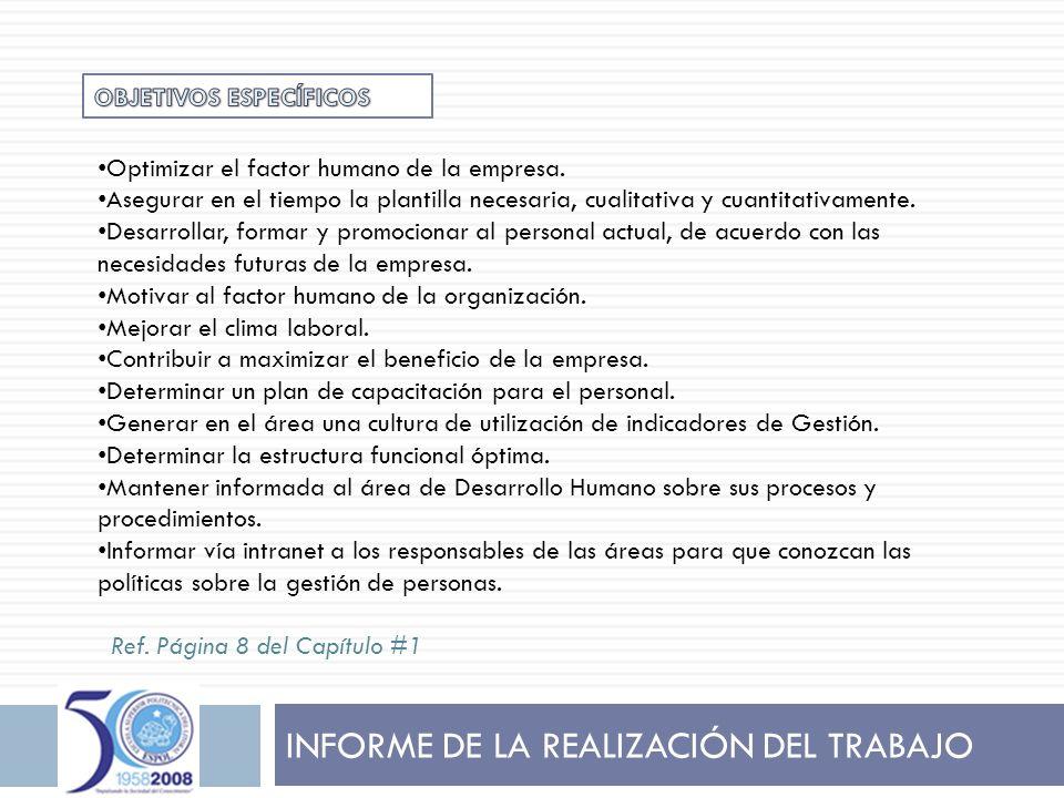 FRANCISCO XAVIER GARCÍA GARAICOA Objetivo: Establecer un mecanismo de promoción interna, que permita a los colaboradores de la Empresa ascender en la organización y aportar con su experiencia.