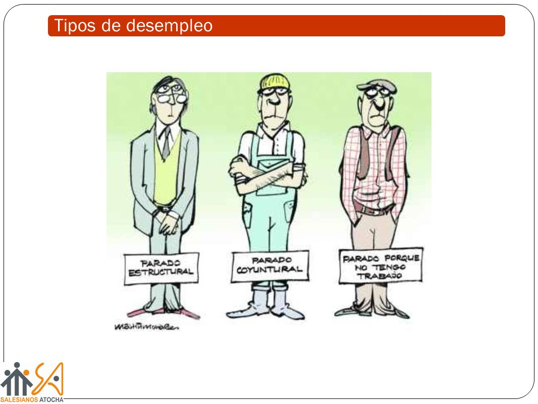 Tipos de desempleo