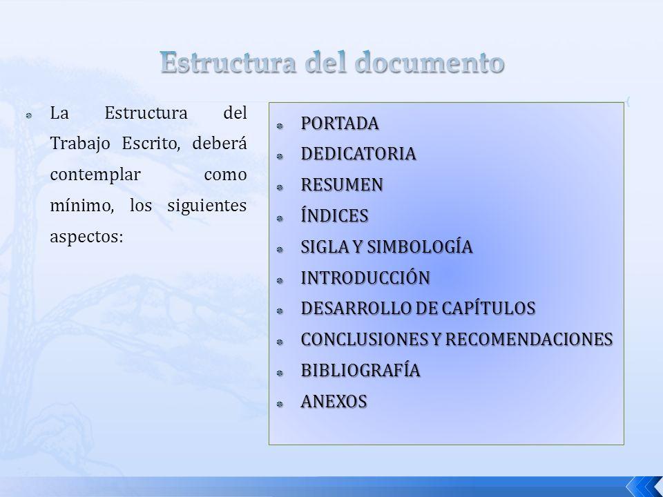 PORTADA PORTADA DEDICATORIA DEDICATORIA RESUMEN RESUMEN ÍNDICES ÍNDICES SIGLA Y SIMBOLOGÍA SIGLA Y SIMBOLOGÍA INTRODUCCIÓN INTRODUCCIÓN DESARROLLO DE