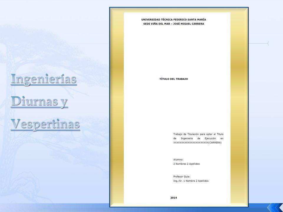 El Trabajo de Título debe contener la bibliografía consultada, como registro bibliográfico numerado.