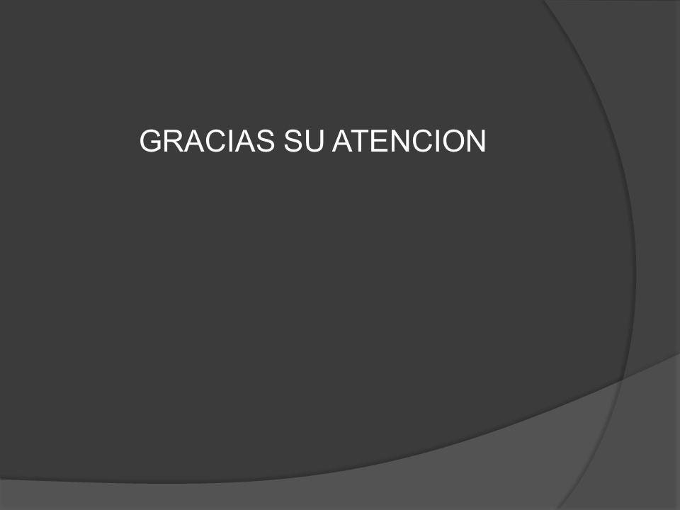 GRACIAS SU ATENCION