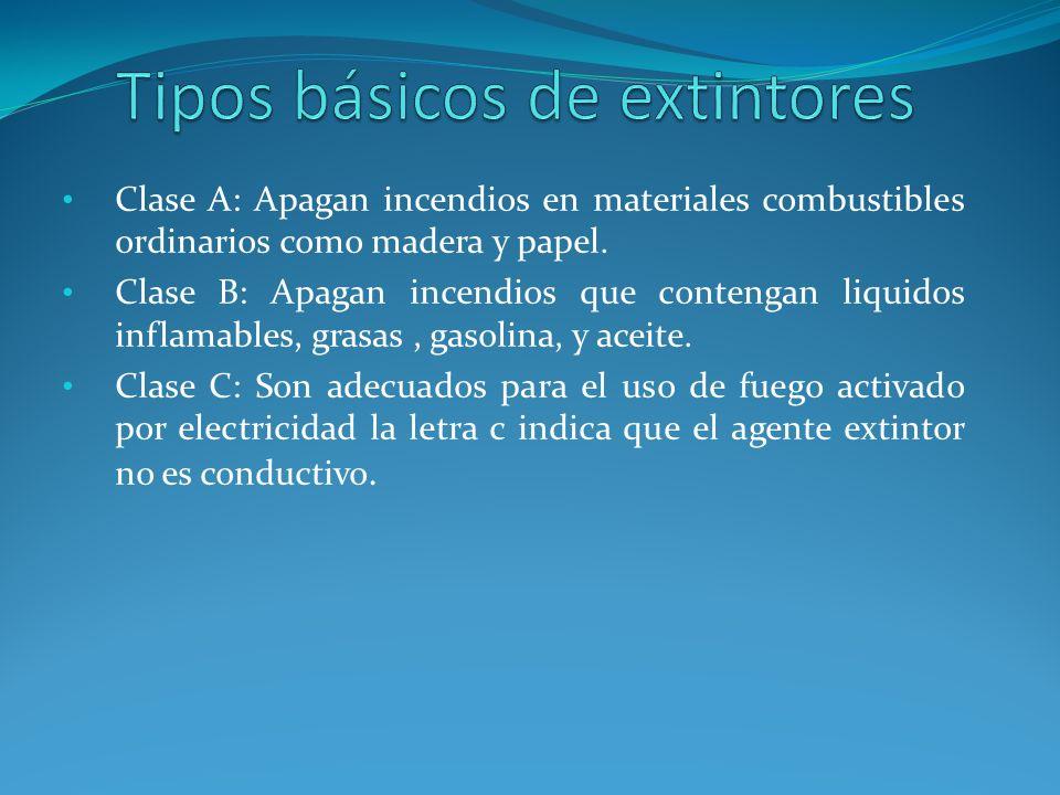 i. Eléctricas. ii. Cigarrillos y fósforos. iii.