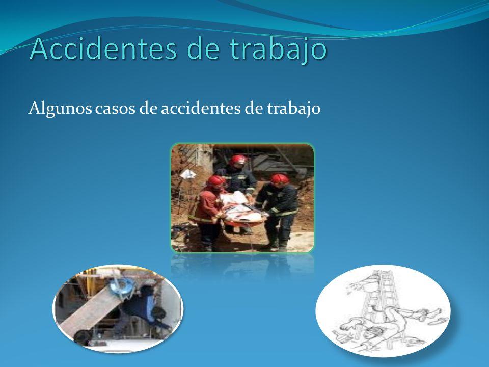 Conociendo el resultado final, podemos describir la consecuencia de un accidente en la siguiente forma: Heridos o causa material, causas directas, causas indirectas.