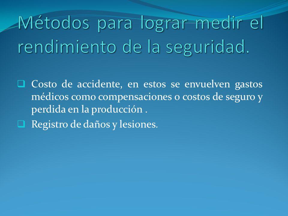 A. Agente: Es el objeto o sustancia relacionada con el daño.