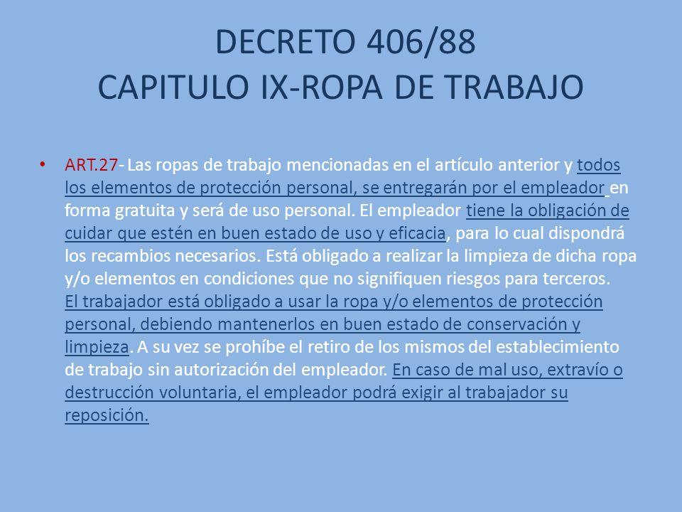 UTILIZAR LA ROPA INDICADA EN EL DESARROLLO DE LA ACTIVIDAD LABORAL COTIDIANA ES DE GRAN IMPORTANCIA UTILIZAR LA INDUMENTARIA ADECUADA.