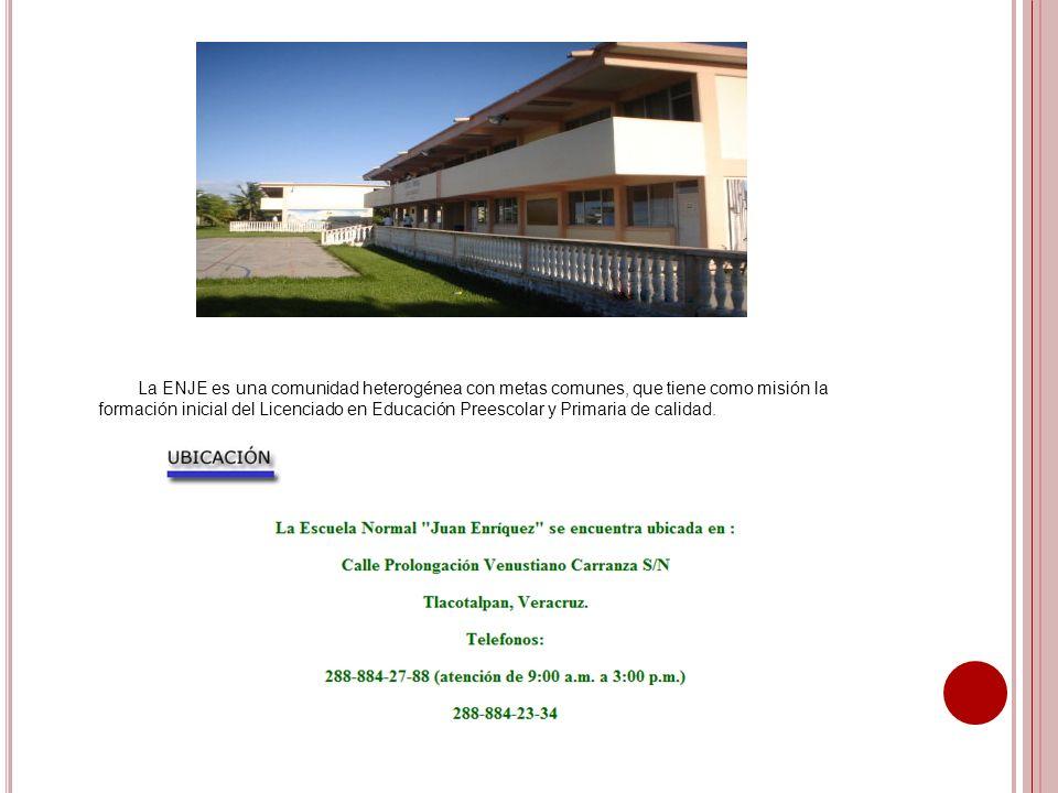 P LAN DE ESTUDIO 1er semestre: Bases filosóficas y legales del sistema educativo mexicano.