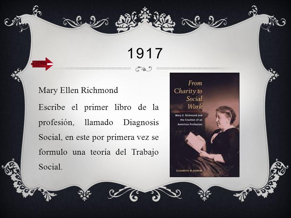 1900 Fin de la primera guerra mundial y la crisis económica de 1900 en Chile, marcan el inicio de la profesión en el país. El descubrimiento del salit
