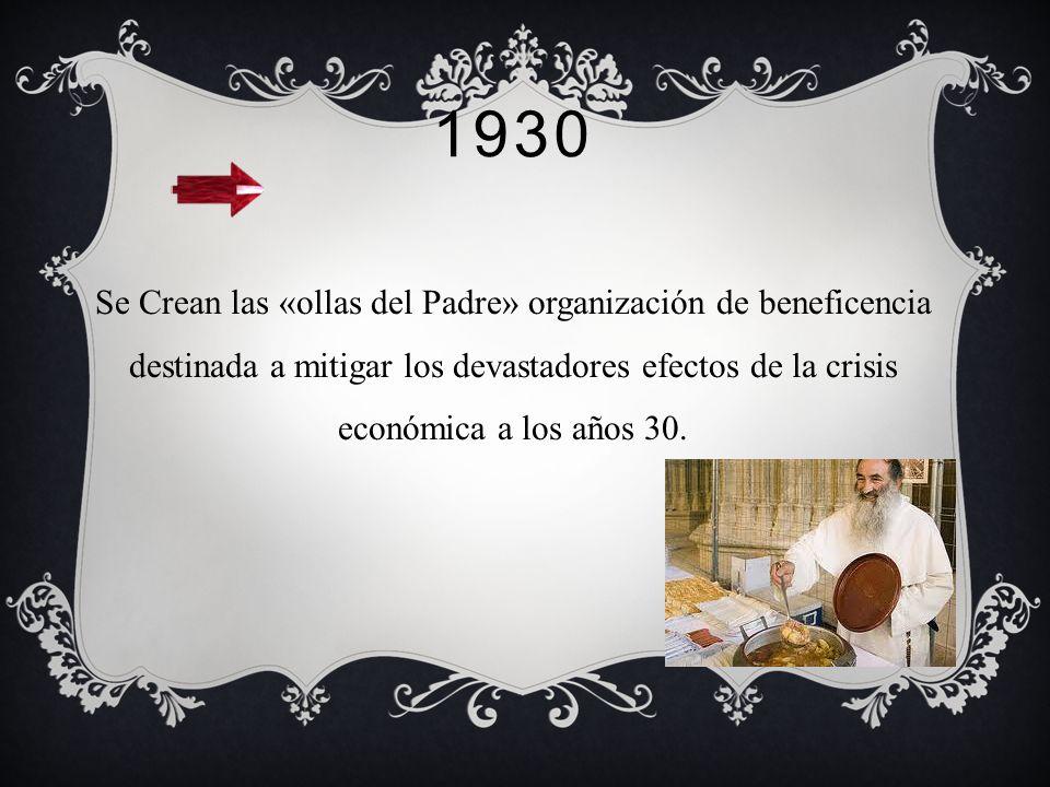 1929 Se crea la segunda Escuela de trabajo social del país y de América Latina, denominada