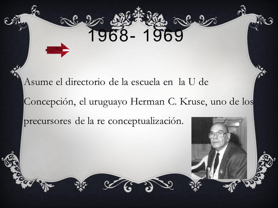 1965- 1967 En este periodo, la Escuela