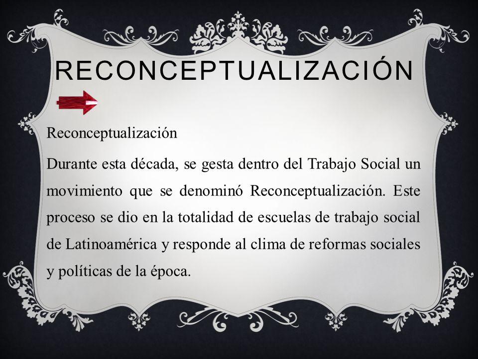 DÉCADA 70 Con el inicio del Gobierno de la Unidad Popular, se da una radical politización de la sociedad y de la acción profesional dentro de las cien