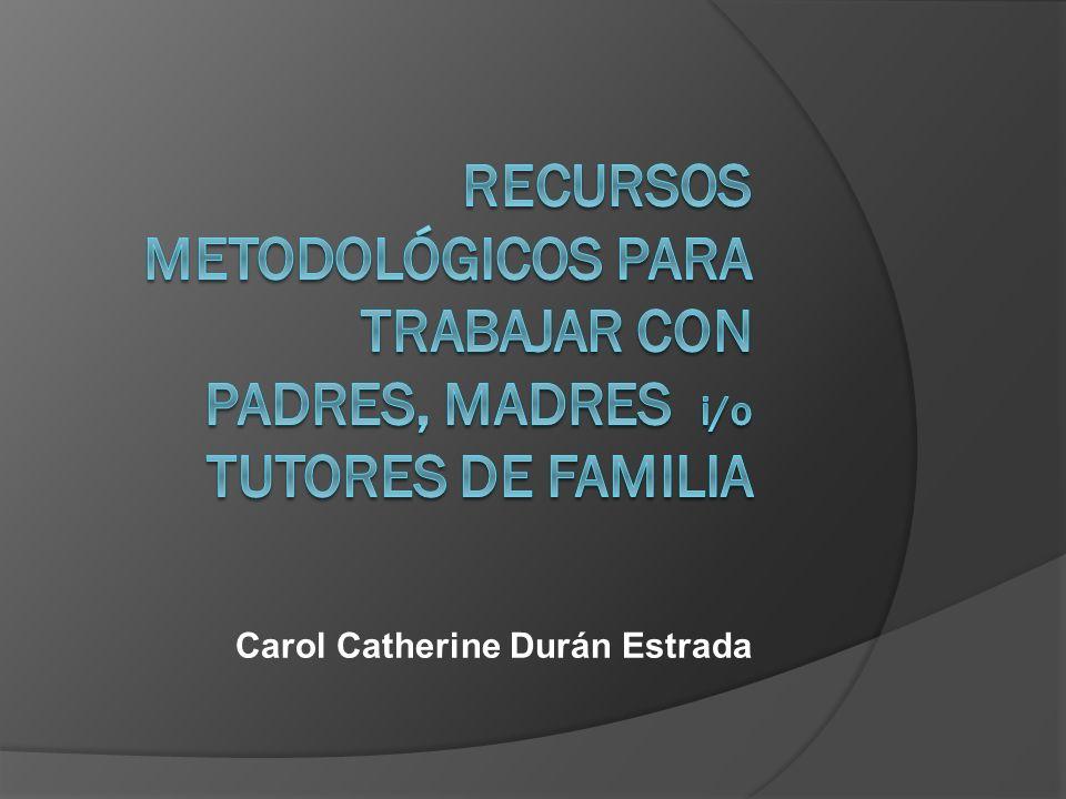 Carol Catherine Durán Estrada
