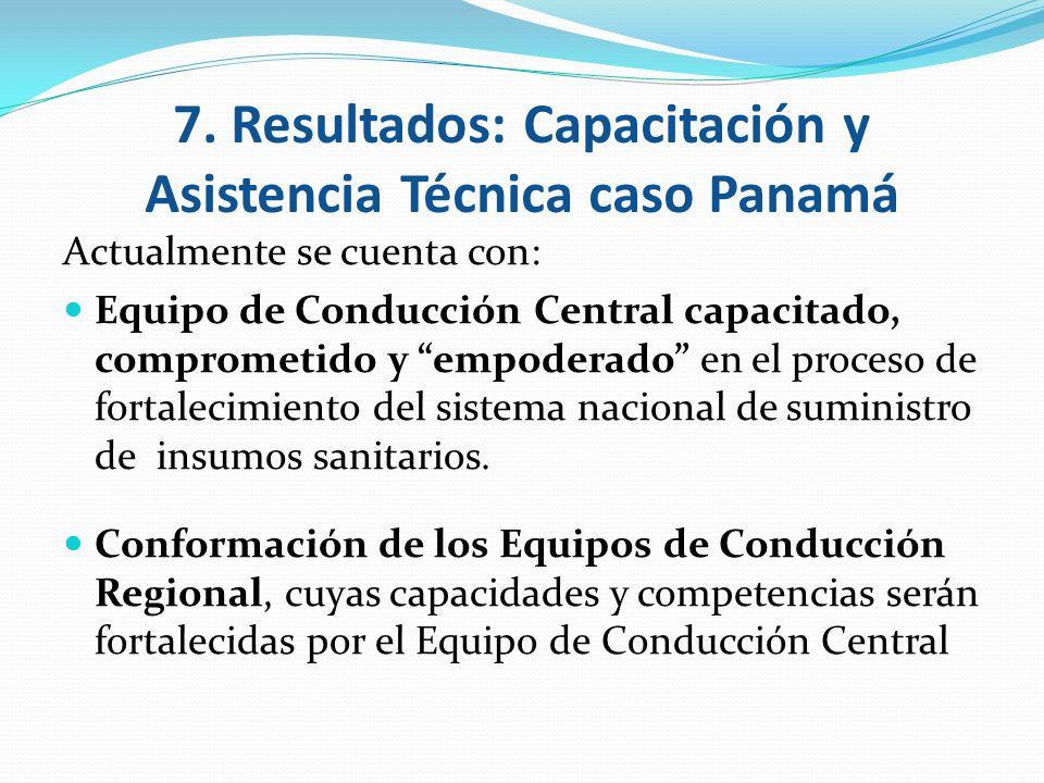 Actualmente se cuenta con: Equipo de Conducción Central capacitado, comprometido y empoderado en el proceso de fortalecimiento del sistema nacional de
