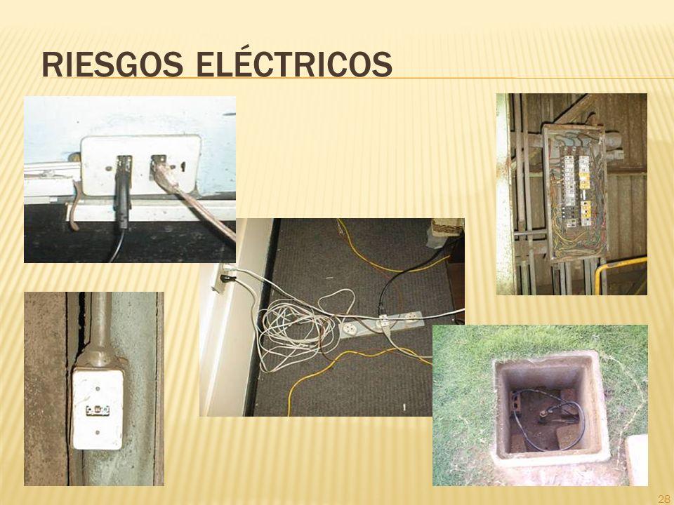 28 RIESGOS ELÉCTRICOS