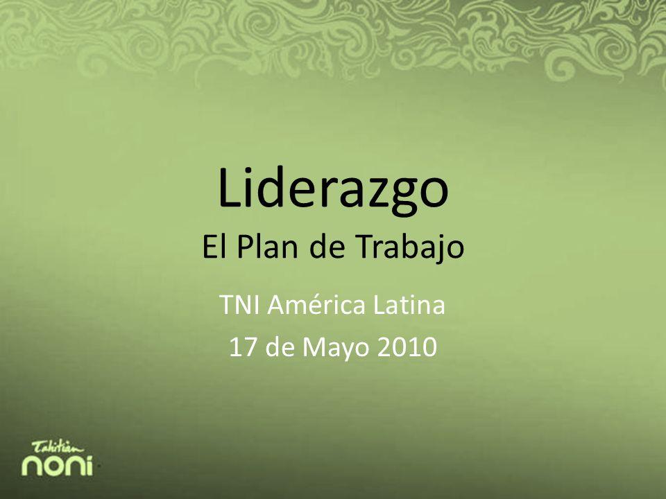 Liderazgo El Plan de Trabajo TNI América Latina 17 de Mayo 2010