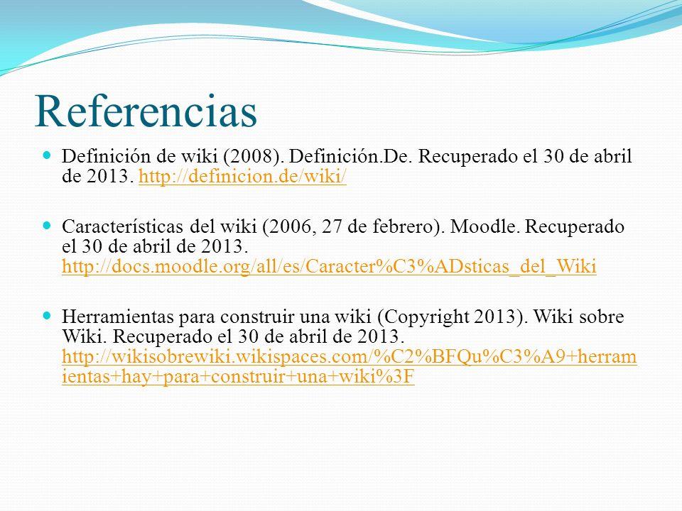 Referencias Definición de wiki (2008).Definición.De.
