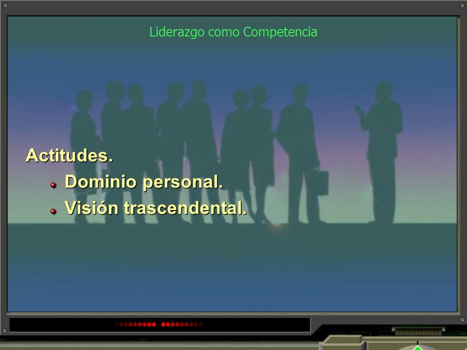 Liderazgo como Competencia Habilidades. Trabajo en equipo. Habilidades sociopolíticas. Habilidades de negociación.