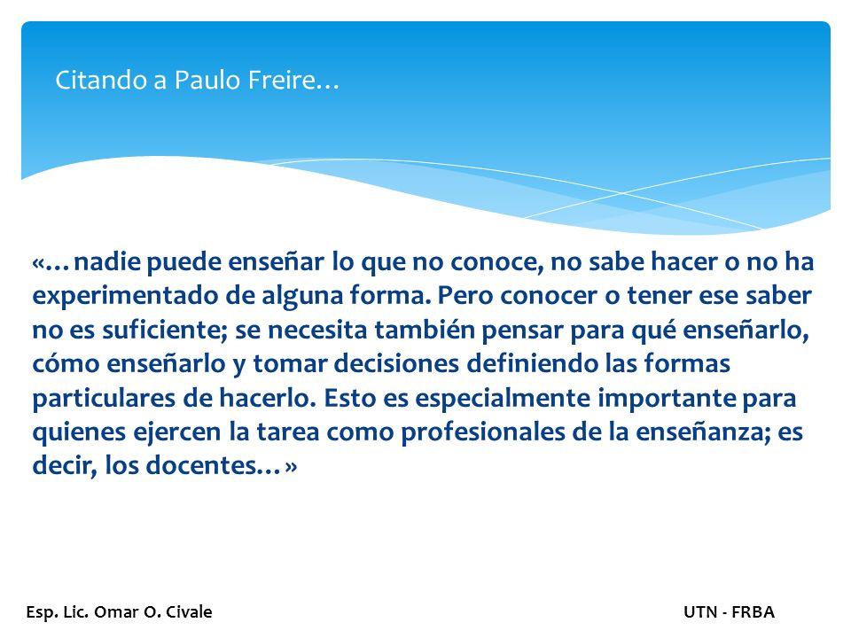 Esp. Lic. Omar O.