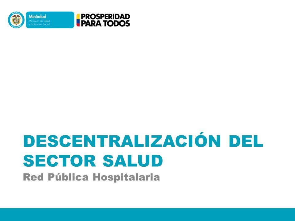 Municipalización de la salud.Empresas sociales del Estado (ESEs).