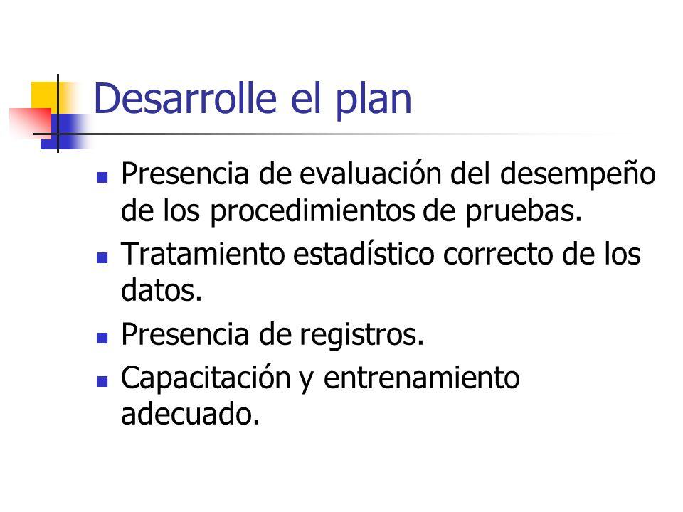 Plan estratégico Aplicar a acreditación alcanzarla en 1-2 años.
