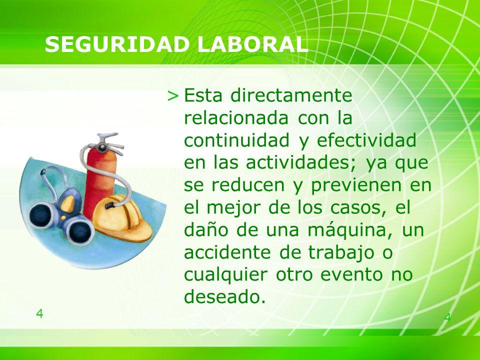 5 DISEÑO DEL PUESTO DE TRABAJO >Es el procedimiento metodológico que permite obtener toda la información relativa a un puesto de trabajo.