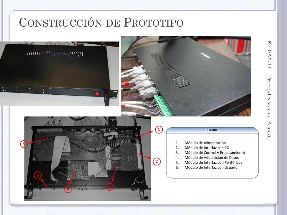 FIUBA 2011 Trabajo Profesional: ScanKit 32 C ONSTRUCCIÓN DE P ROTOTIPO