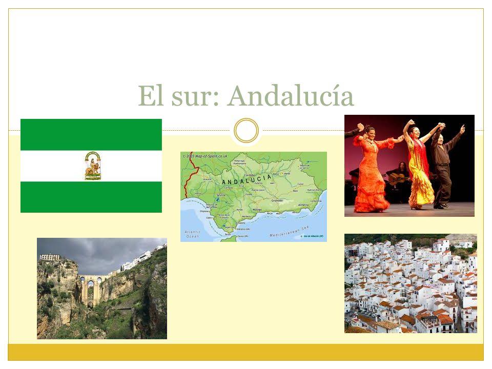El sur: Andalucía