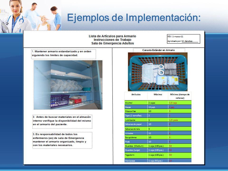 Ejemplos de Implementación: