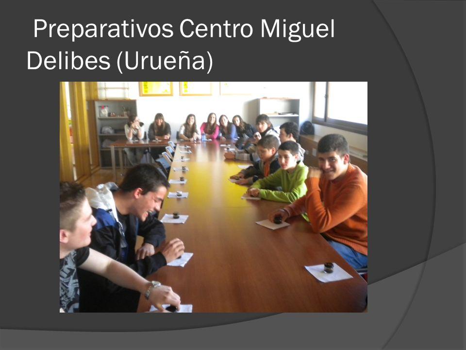 Preparativos Centro Miguel Delibes (Urueña)