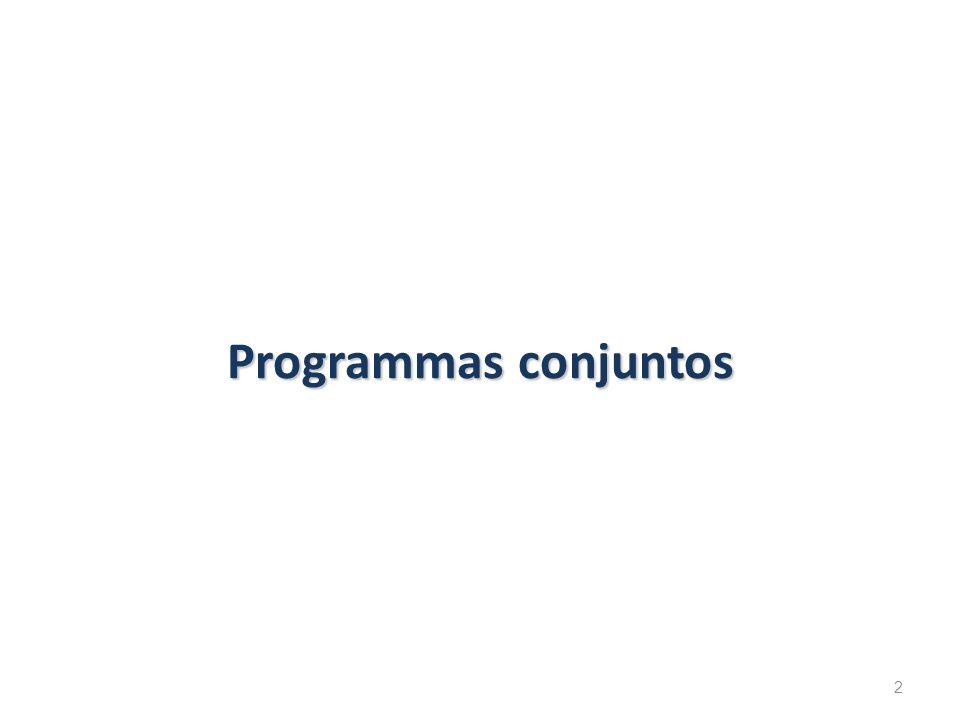 Programmas conjuntos 2