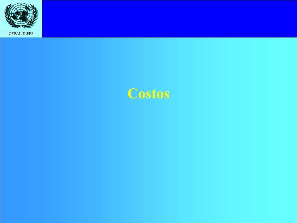 CEPAL/ILPES Costos