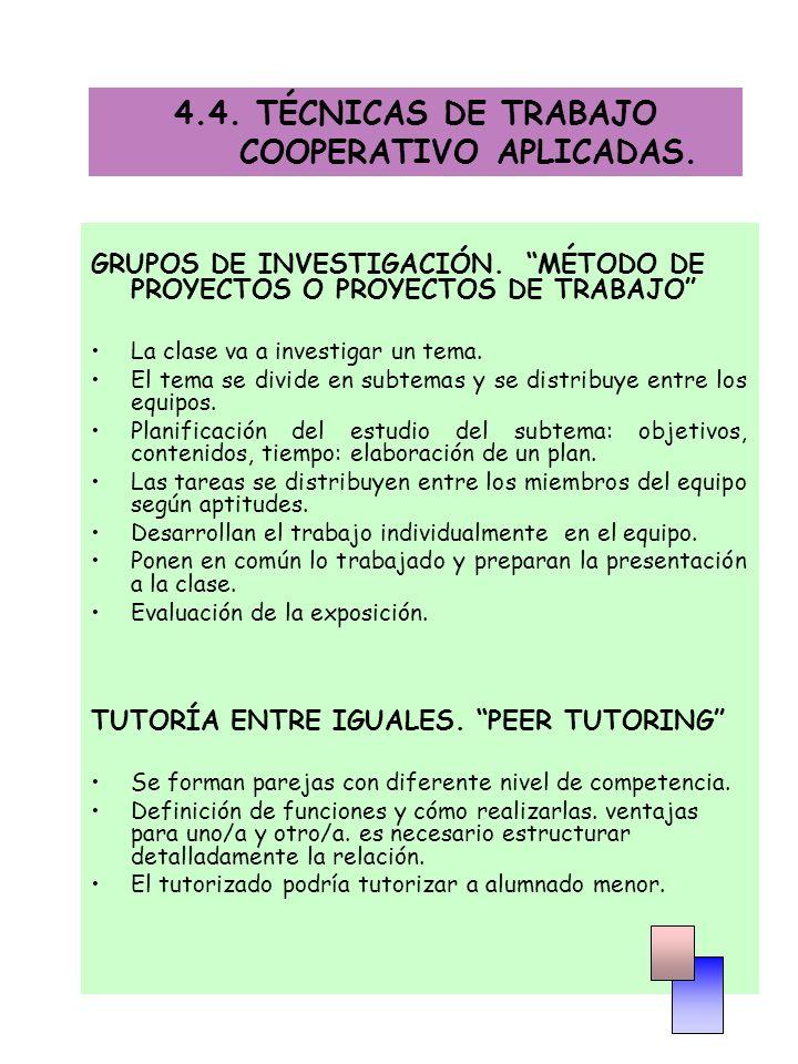 GRUPOS DE INVESTIGACIÓN.