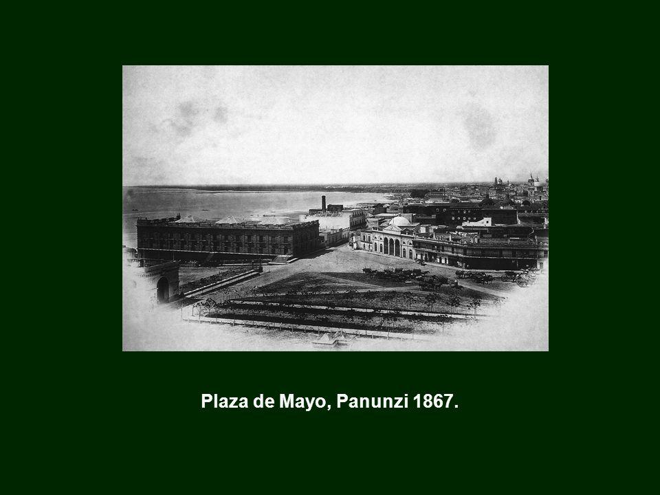 Plaza de Mayo, Panunzi 1867.