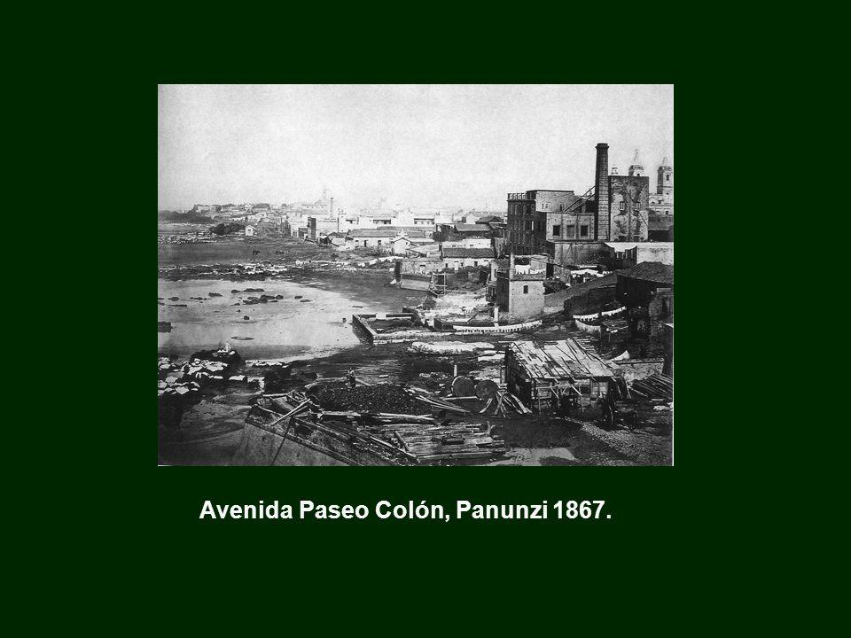 Avenida Paseo Colón, Panunzi 1867.