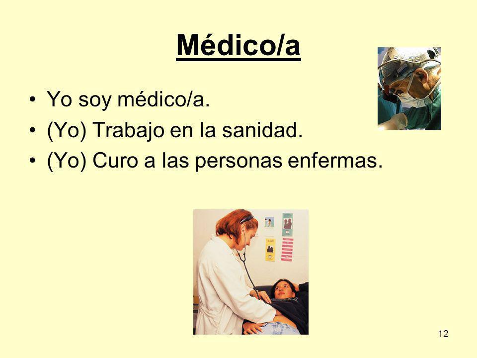 11 Médico/a