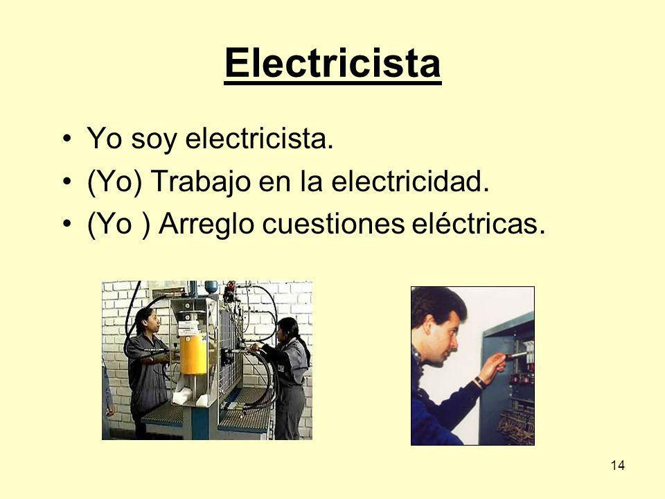 13 Electricista