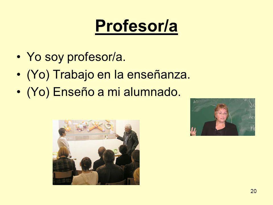 19 Profesor/a