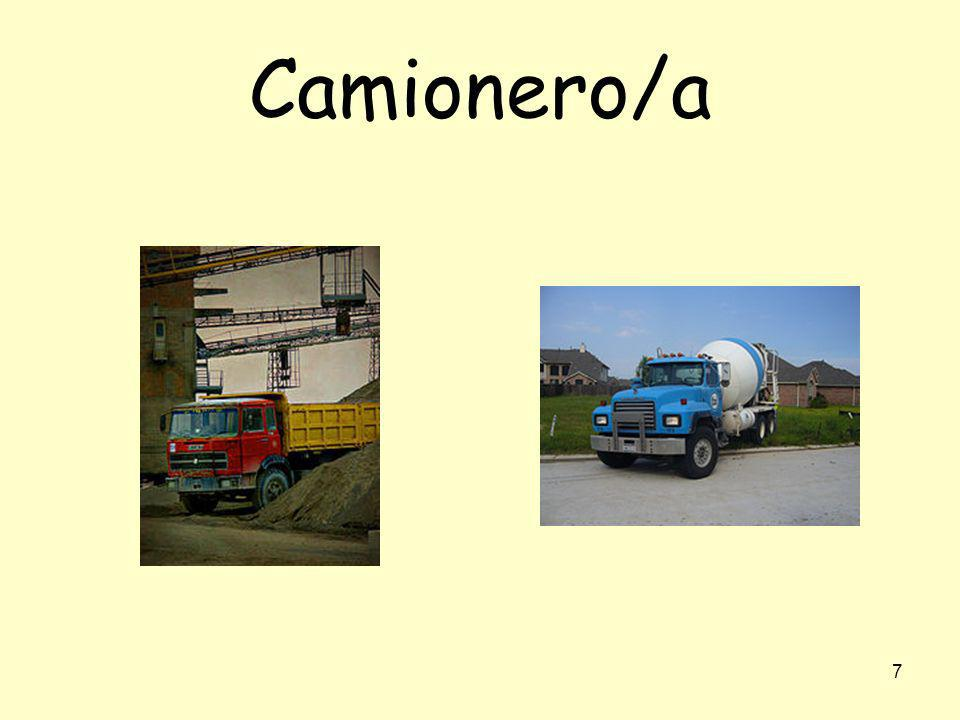 7 Camionero/a