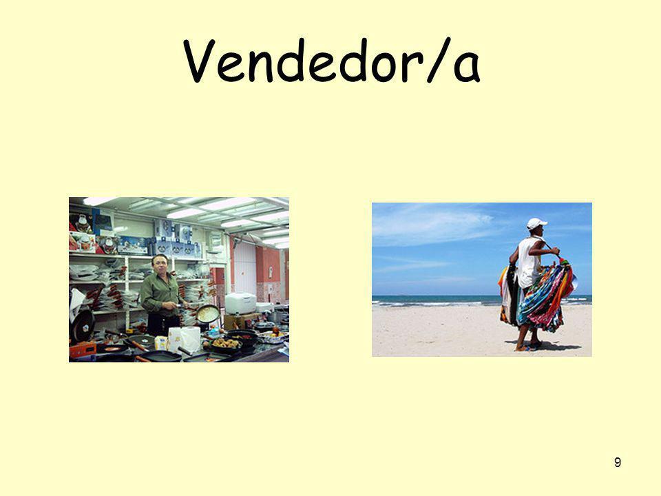 9 Vendedor/a