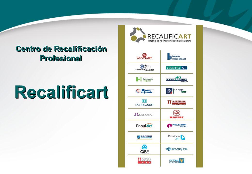 Centro de Recalificación Profesional Recalificart Centro de Recalificación Profesional Recalificart