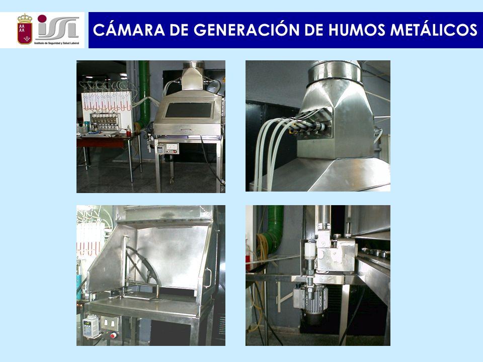 CÁMARA DE GENERACIÓN DE HUMOS METÁLICOS