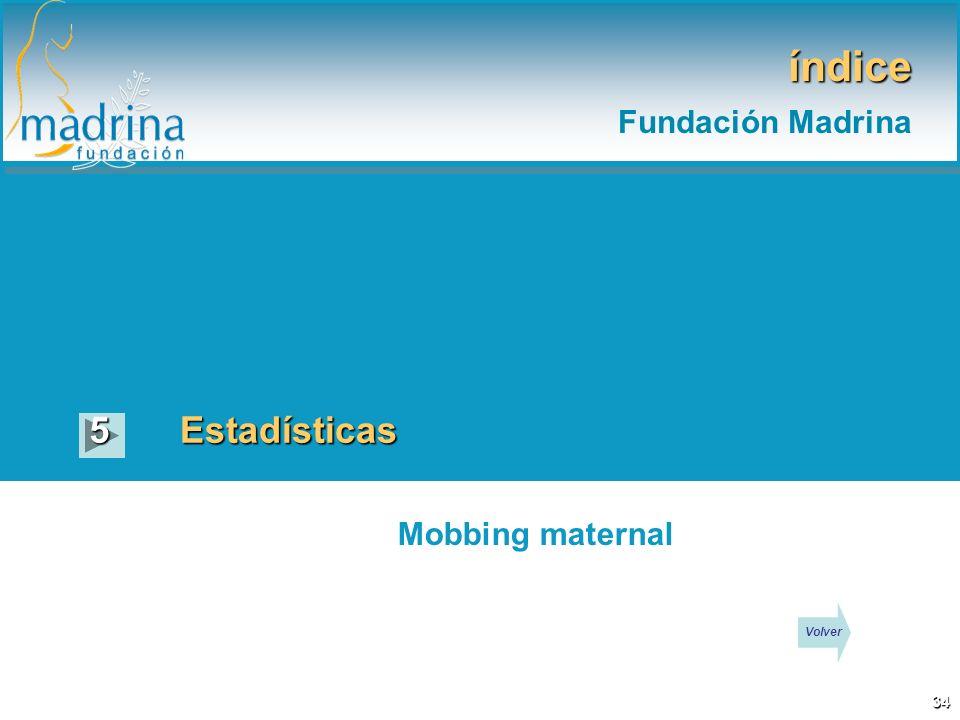 índice Estadísticas5 Mobbing maternal 34 Volver