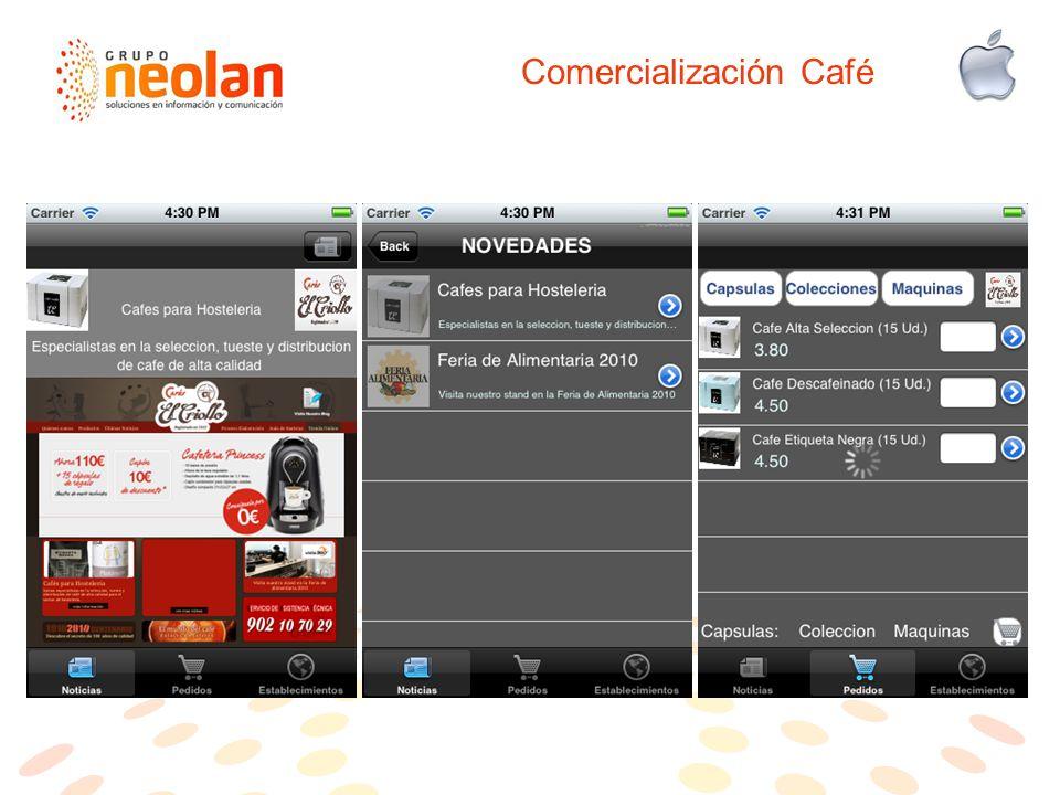 Comercialización Café