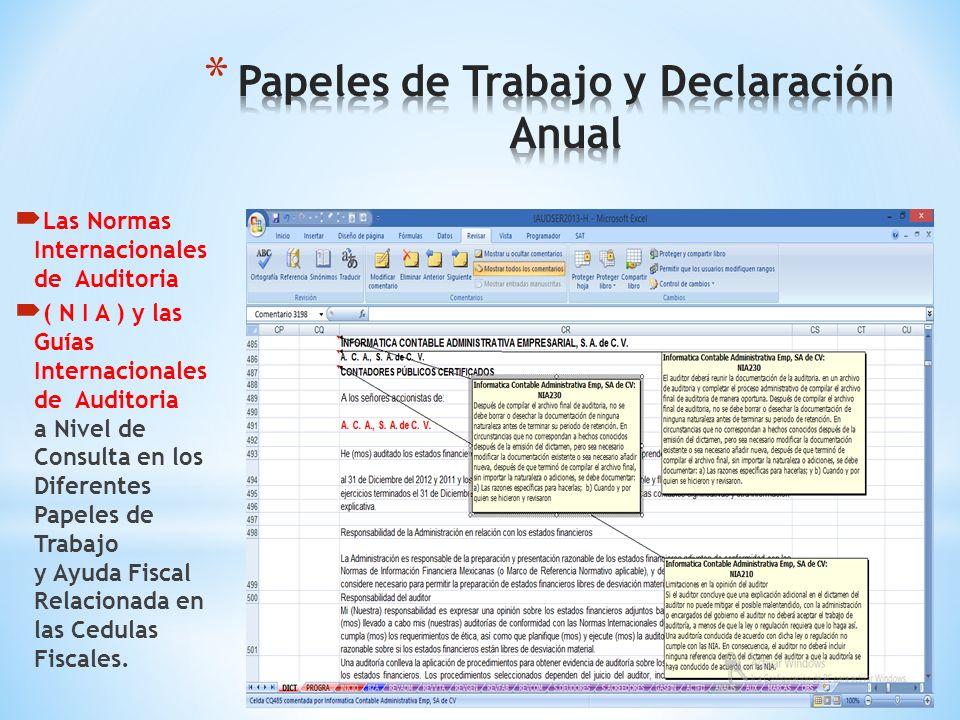 Formato Vigente de la Declaración Anual con Fines No Lucrativos Vinculada con los Datos de las Cédulas de Trabajo de Auditoria Lista para Imprimirse F