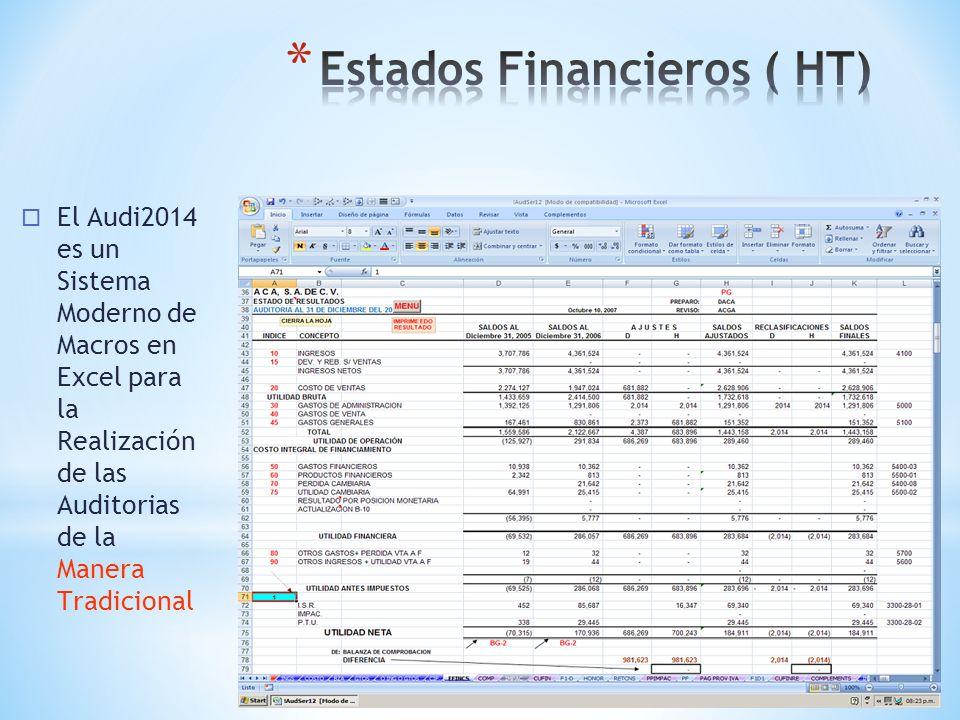 AUDITORIA PARA EFECTOS FINANCIEROS EN EXCEL progsimplex@yahoo.com.mx alf_simplex@hotmail.com Pagina: ssimplex.com AUDI 2014 Presione F5 para iniciar l